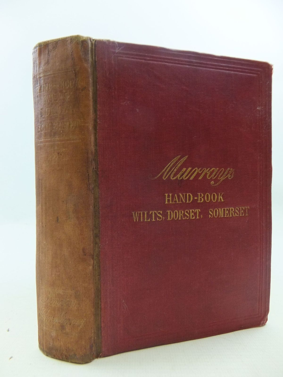 Photo of HANDBOOK FOR TRAVELLERS IN WILTSHIRE, DORSETSHIRE, AND SOMERSETSHIRE