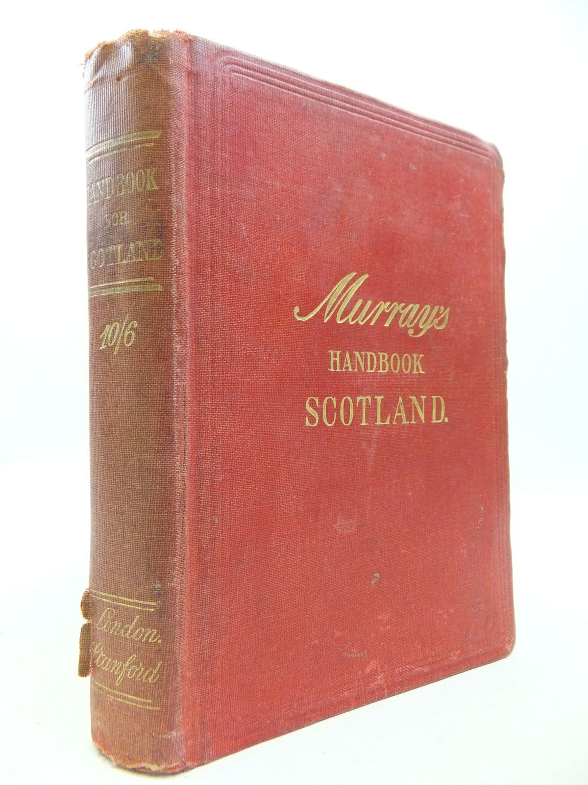 Photo of HANDBOOK FOR TRAVELLERS IN SCOTLAND written by Penney, Scott Moncrieff published by John Murray (STOCK CODE: 2112122)  for sale by Stella & Rose's Books
