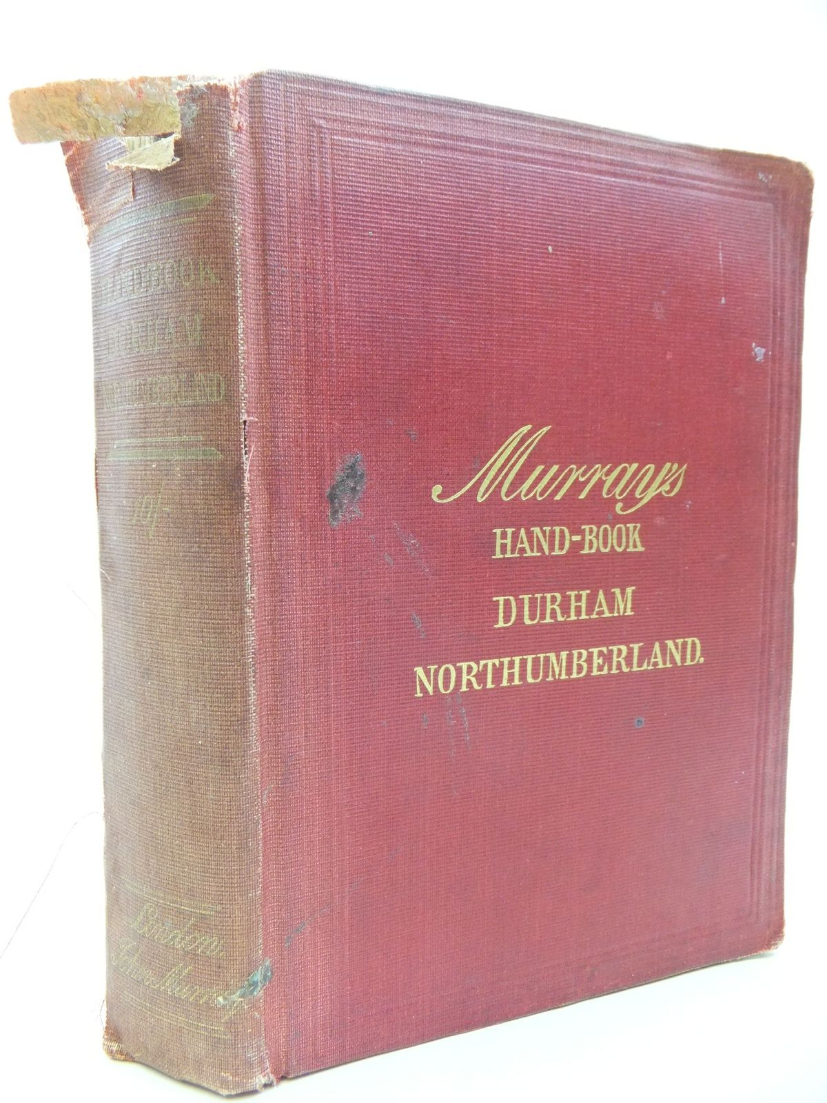 Photo of A HANDBOOK FOR TRAVELLERS IN DURHAM AND NORTHUMBERLAND published by John Murray (STOCK CODE: 2112123)  for sale by Stella & Rose's Books