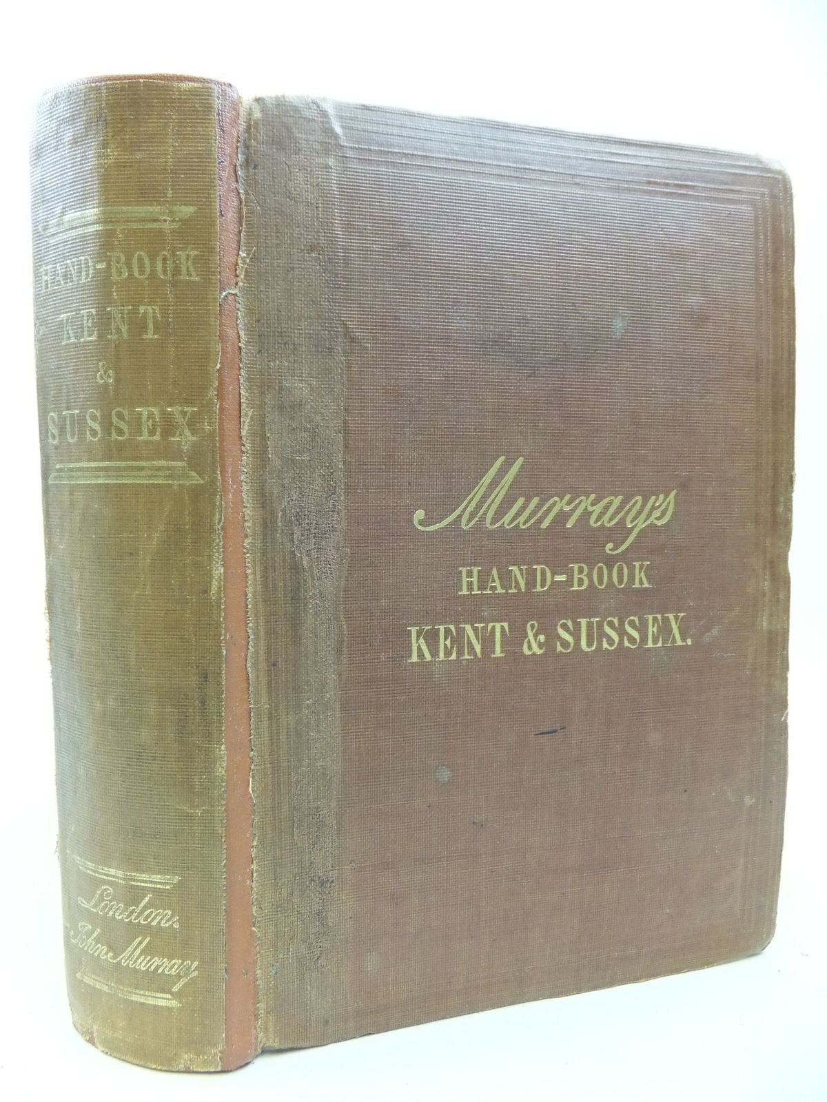 Photo of A HANDBOOK FOR TRAVELLERS IN KENT AND SUSSEX published by John Murray (STOCK CODE: 2112125)  for sale by Stella & Rose's Books