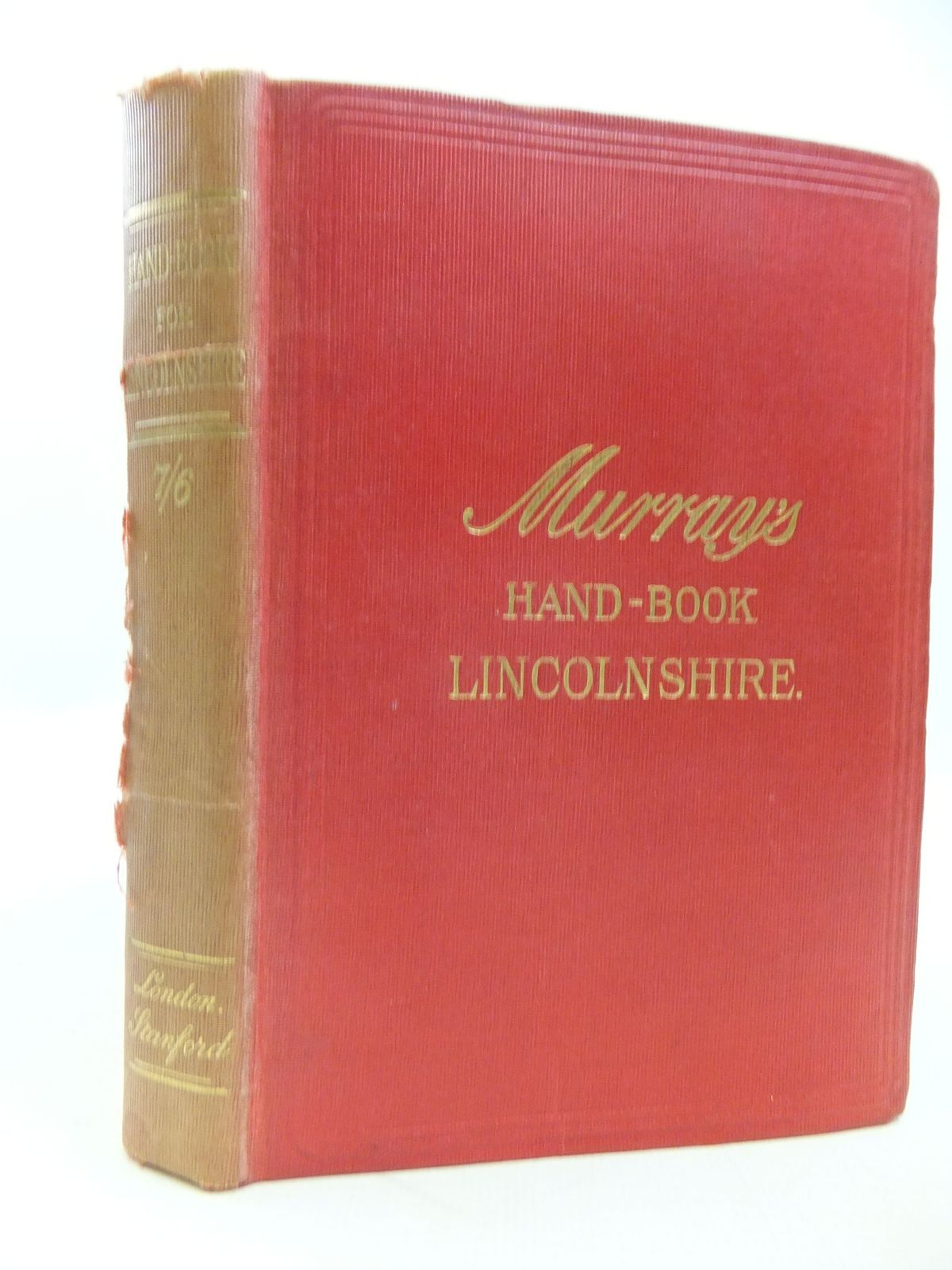 Photo of HANDBOOK FOR LINCOLNSHIRE published by John Murray (STOCK CODE: 2112128)  for sale by Stella & Rose's Books