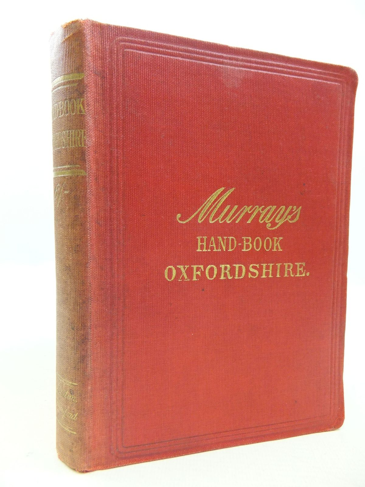 Photo of HANDBOOK FOR TRAVLLERS IN OXFORDSHIRE published by John Murray (STOCK CODE: 2112130)  for sale by Stella & Rose's Books