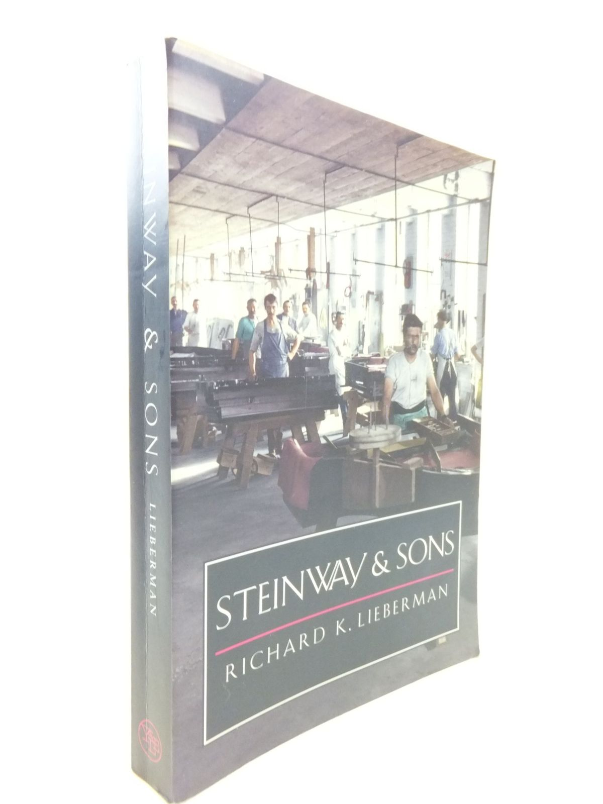 Photo of STEINWAY & SONS written by Lieberman, Richard K. published by Yale University Press (STOCK CODE: 2112162)  for sale by Stella & Rose's Books