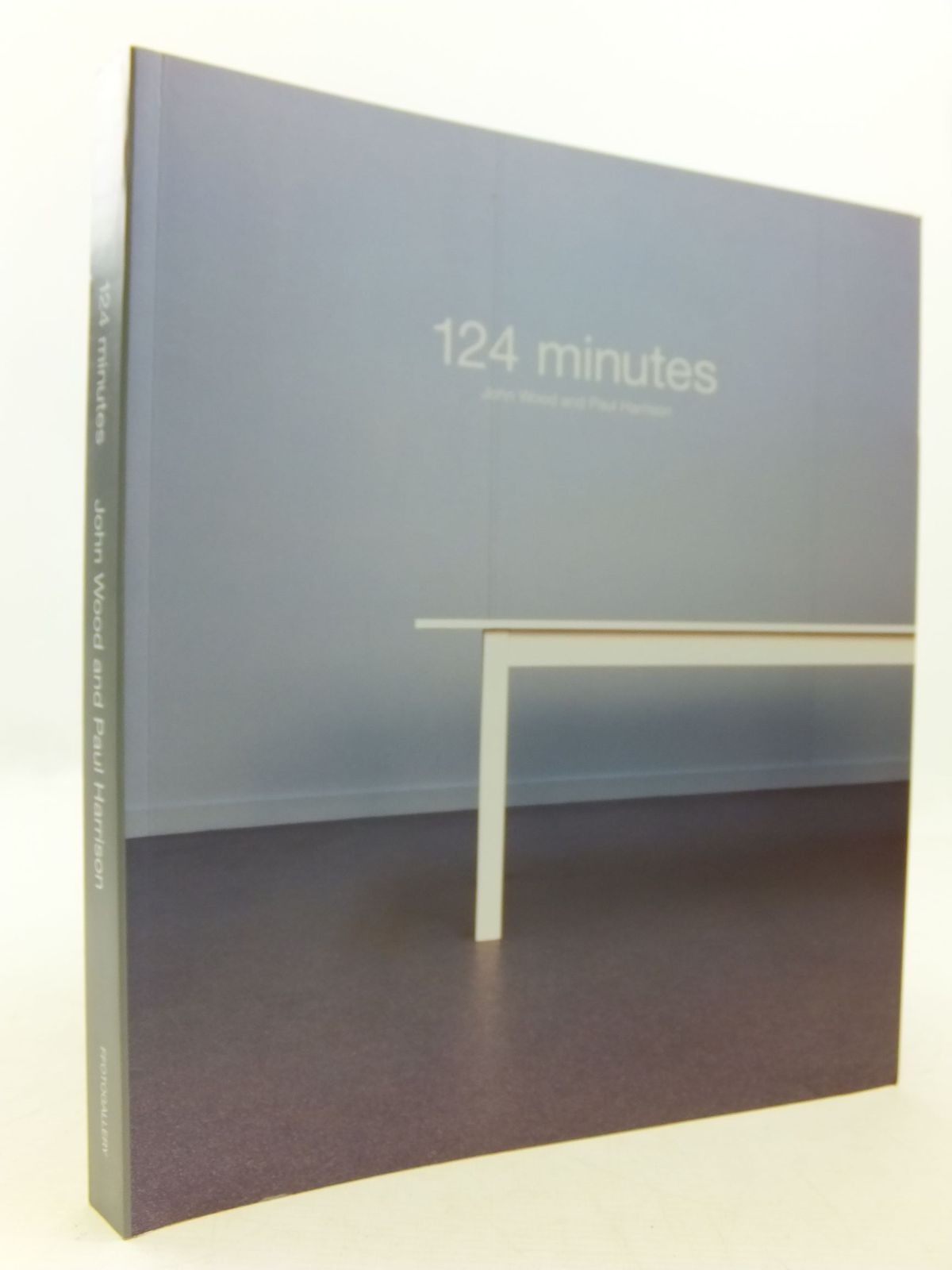 Photo of 124 MINUTES written by Wood, John<br />Harrison, Paul published by Ffotogallery (STOCK CODE: 2112207)  for sale by Stella & Rose's Books