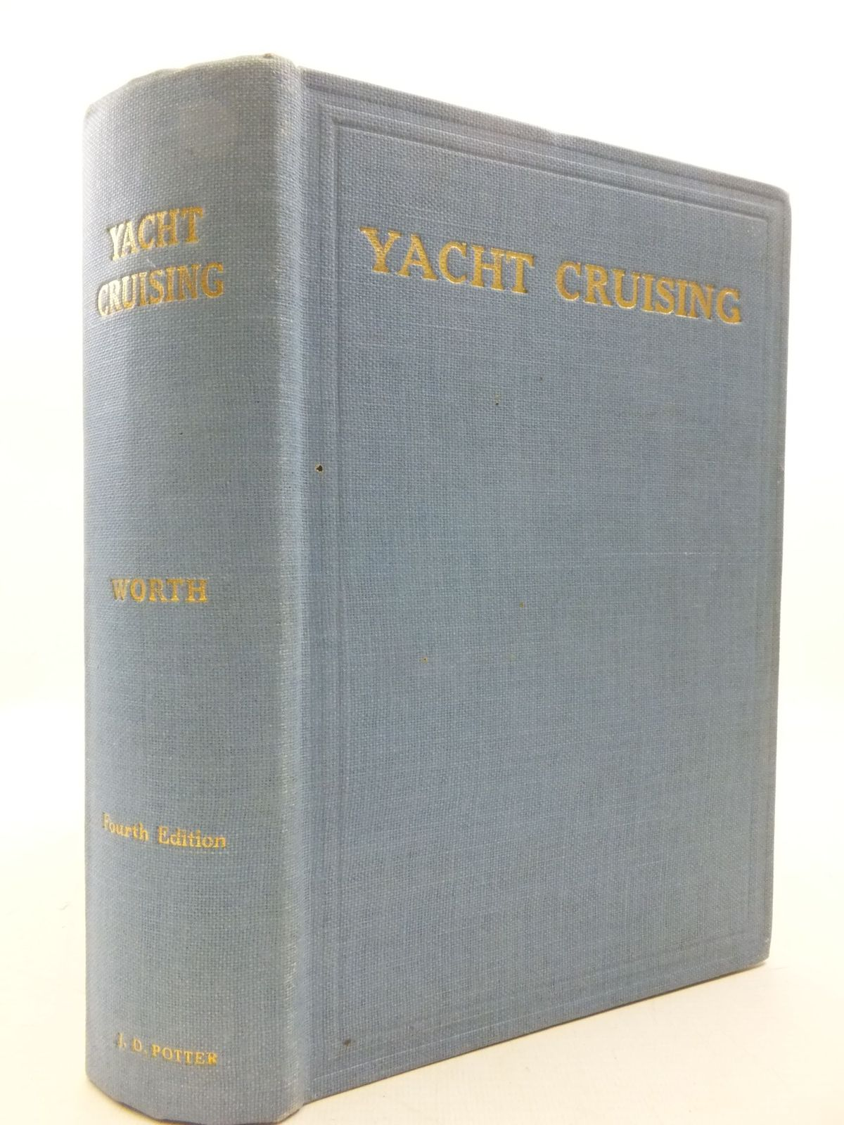 Photo of YACHT CRUISING written by Worth, Claud published by J.D. Potter (STOCK CODE: 2112241)  for sale by Stella & Rose's Books