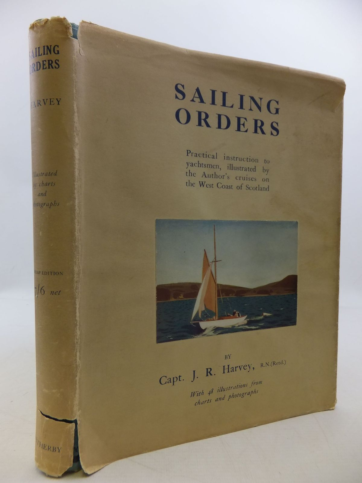 Photo of SAILING ORDERS written by Harvey, J.R. published by H.F. & G. Witherby Ltd. (STOCK CODE: 2112247)  for sale by Stella & Rose's Books