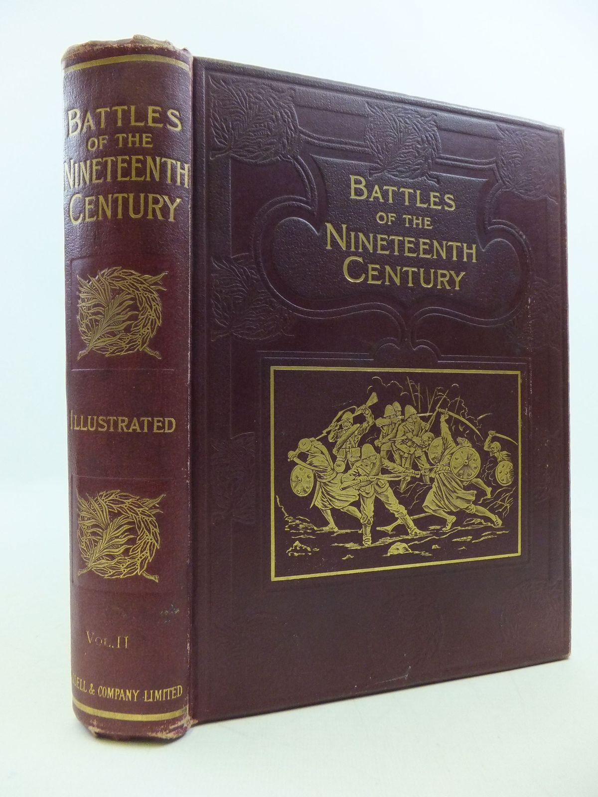 Photo of BATTLES OF THE NINETEENTH CENTURY VOLUME II