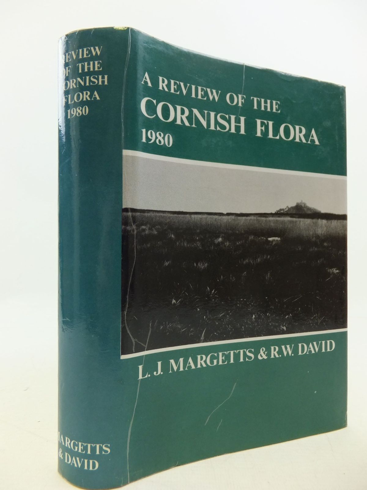 Photo of A REVIEW OF THE CORNISH FLORA 1980 written by Margetts, L.J.<br />David, R.W. published by Institute Of Cornish Studies (STOCK CODE: 2112307)  for sale by Stella & Rose's Books