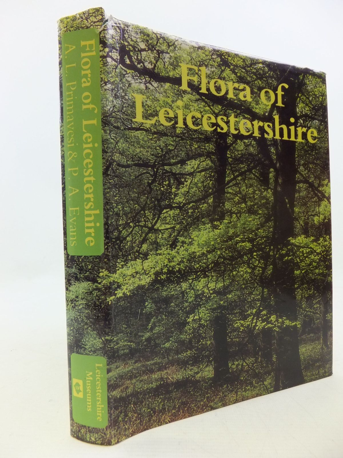Photo of FLORA OF LEICESTERSHIRE written by Primavesi, A.L.<br />Evans, P.A. published by Leicestershire Museums (STOCK CODE: 2112312)  for sale by Stella & Rose's Books