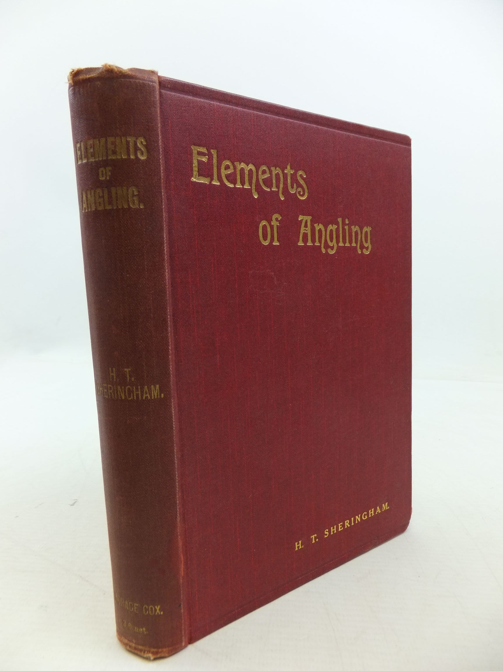 Photo of ELEMENTS OF ANGLING A BOOK FOR BEGINNERS written by Sheringham, H.T. published by Horace Cox (STOCK CODE: 2112414)  for sale by Stella & Rose's Books