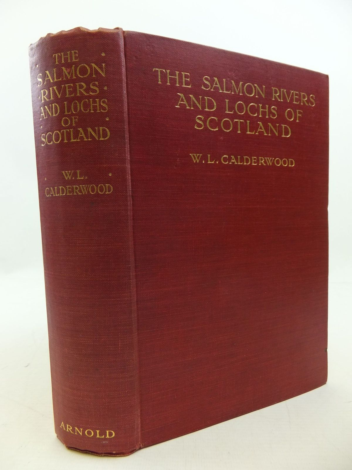 Photo of THE SALMON RIVERS AND LOCHS OF SCOTLAND written by Calderwood, W.L. published by Edward Arnold (STOCK CODE: 2112419)  for sale by Stella & Rose's Books