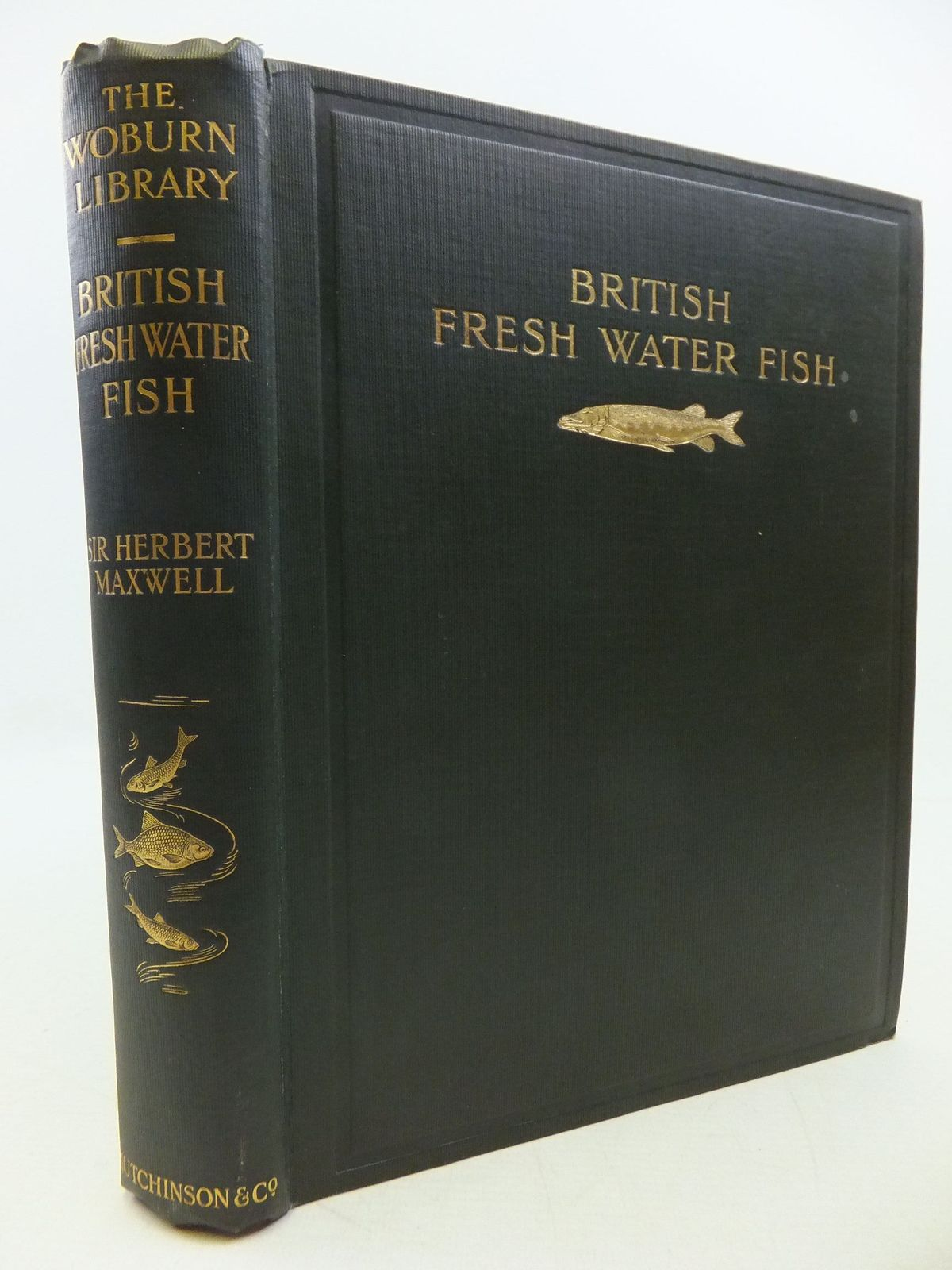 Photo of BRITISH FRESH-WATER FISHES written by Maxwell, Herbert published by Hutchinson & Co. (STOCK CODE: 2112421)  for sale by Stella & Rose's Books