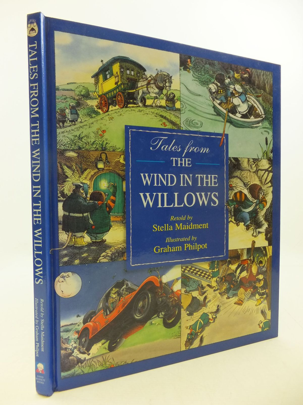Photo of TALES FROM THE WIND IN THE WILLOWS written by Grahame, Kenneth<br />Maidment, Stella illustrated by Philpot, Graham published by David Bennett Books Ltd. (STOCK CODE: 2112439)  for sale by Stella & Rose's Books