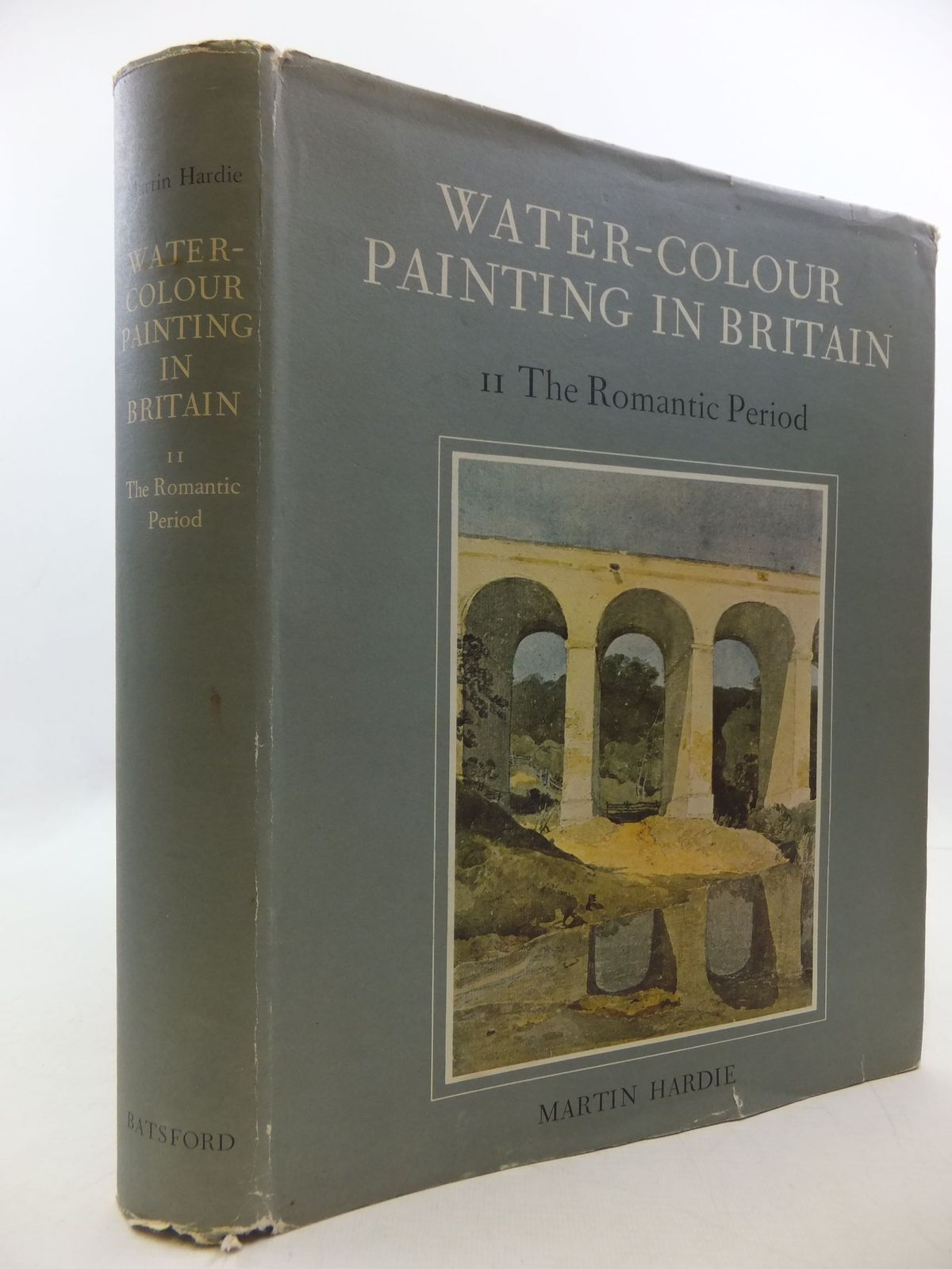 Photo of WATER-COLOUR PAINTING IN BRITAIN II THE ROMANTIC PERIOD written by Hardie, Martin<br />Snelgrove, Dudley<br />Mayne, Jonathan<br />Taylor, Basil published by B.T. Batsford Ltd. (STOCK CODE: 2112454)  for sale by Stella & Rose's Books