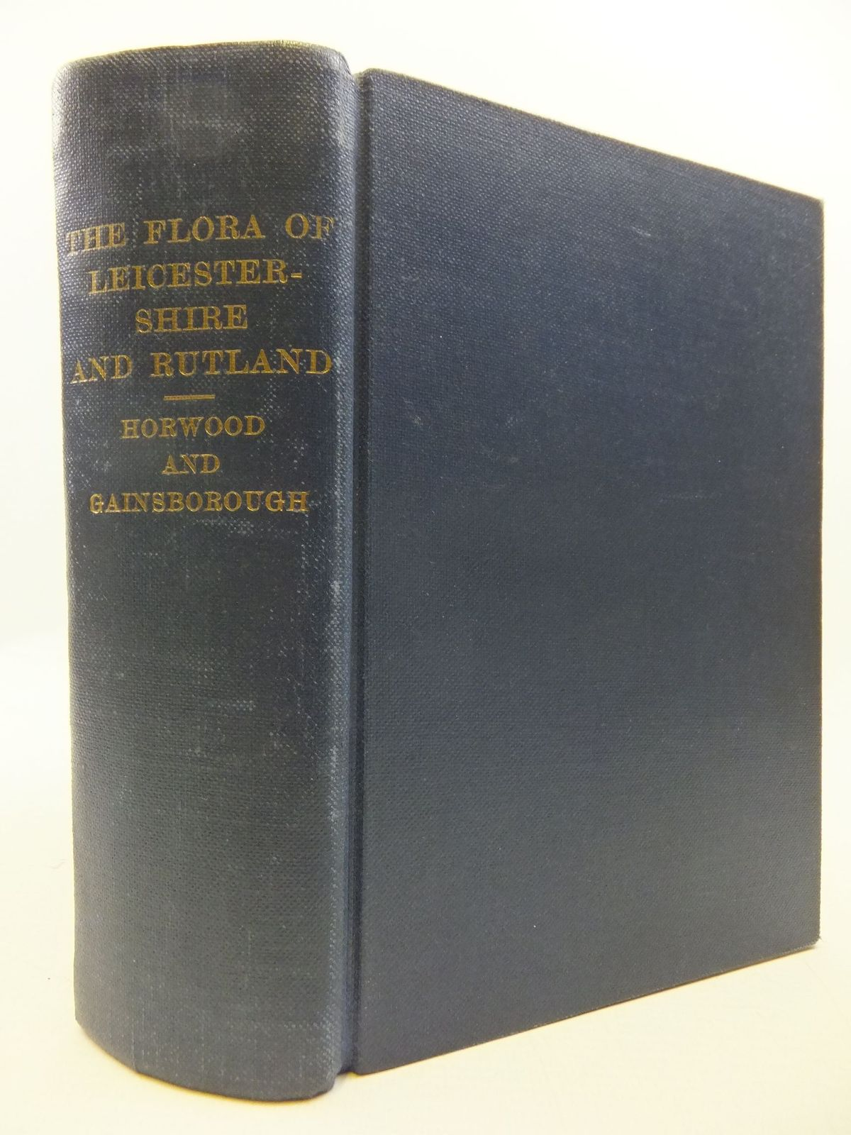 Photo of THE FLORA OF LEICESTERSHIRE AND RUTLAND written by Horwood, Arthur Reginald<br />Noel, Charles William Francis published by Oxford University Press, Humphrey Milford (STOCK CODE: 2112508)  for sale by Stella & Rose's Books