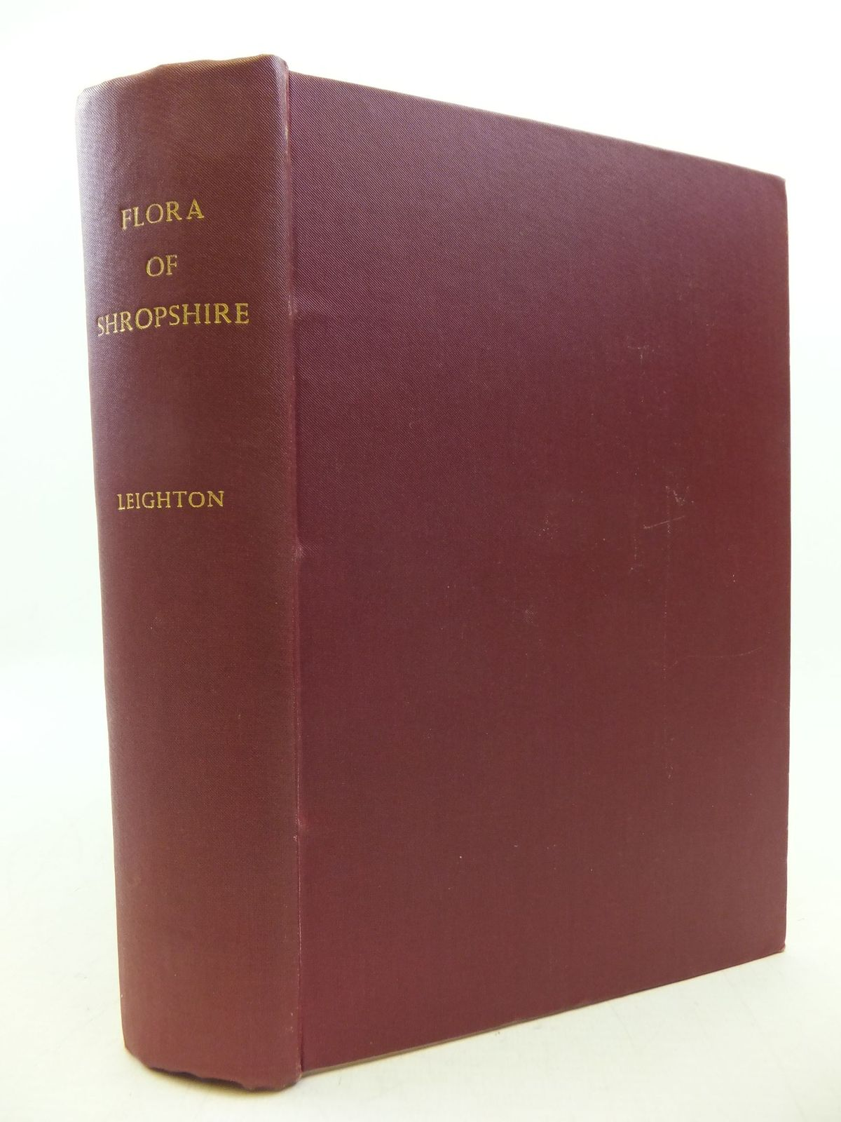 Photo of A FLORA OF SHROPSHIRE written by Leighton, W.A. published by John Davies (STOCK CODE: 2112511)  for sale by Stella & Rose's Books