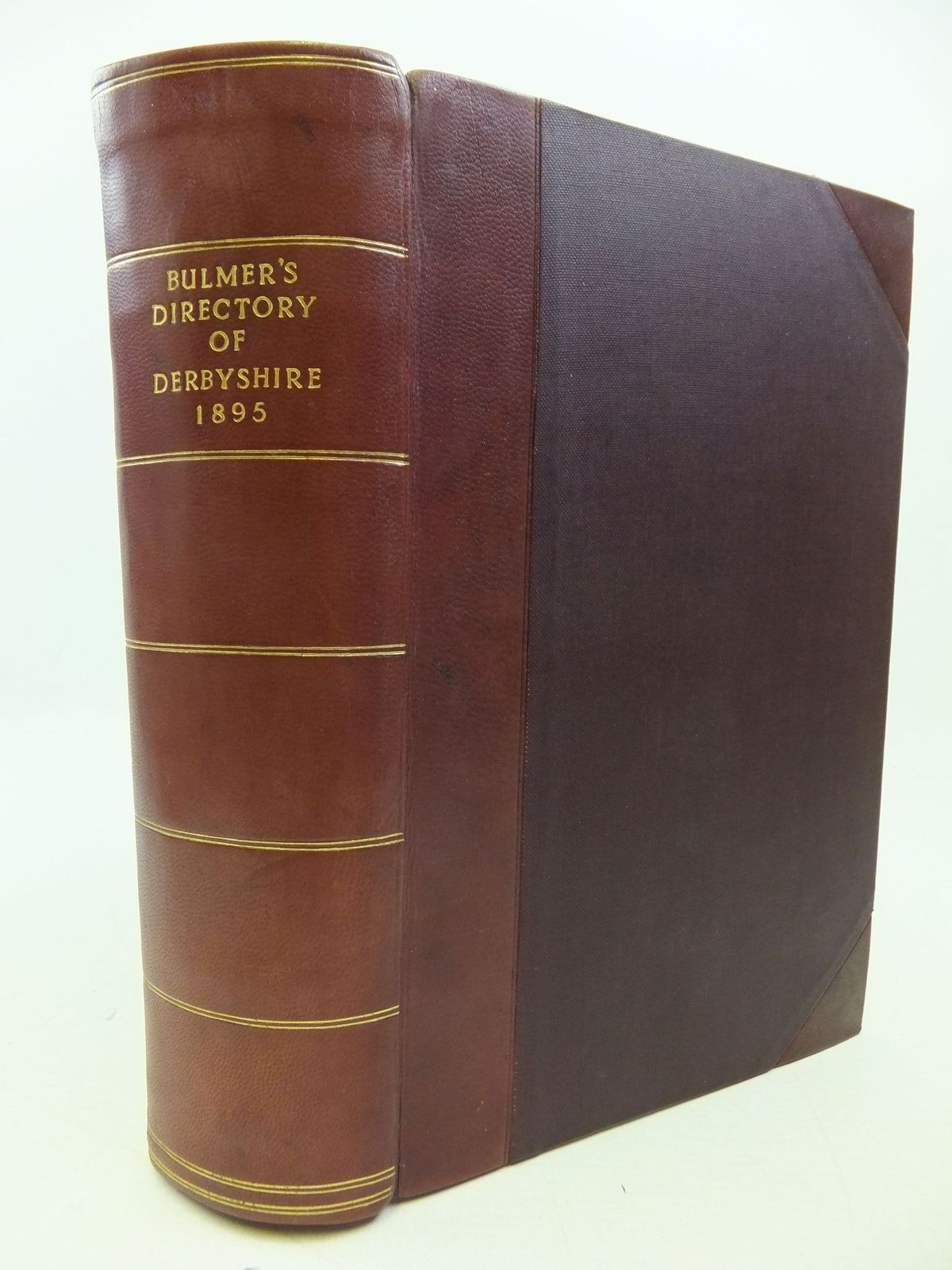 Photo of HISTORY, TOPOGRAPHY, AND DIRECTORY OF DERBYSHIRE written by Bulmer, T. published by T. Bulmer &. Co. (STOCK CODE: 2112524)  for sale by Stella & Rose's Books