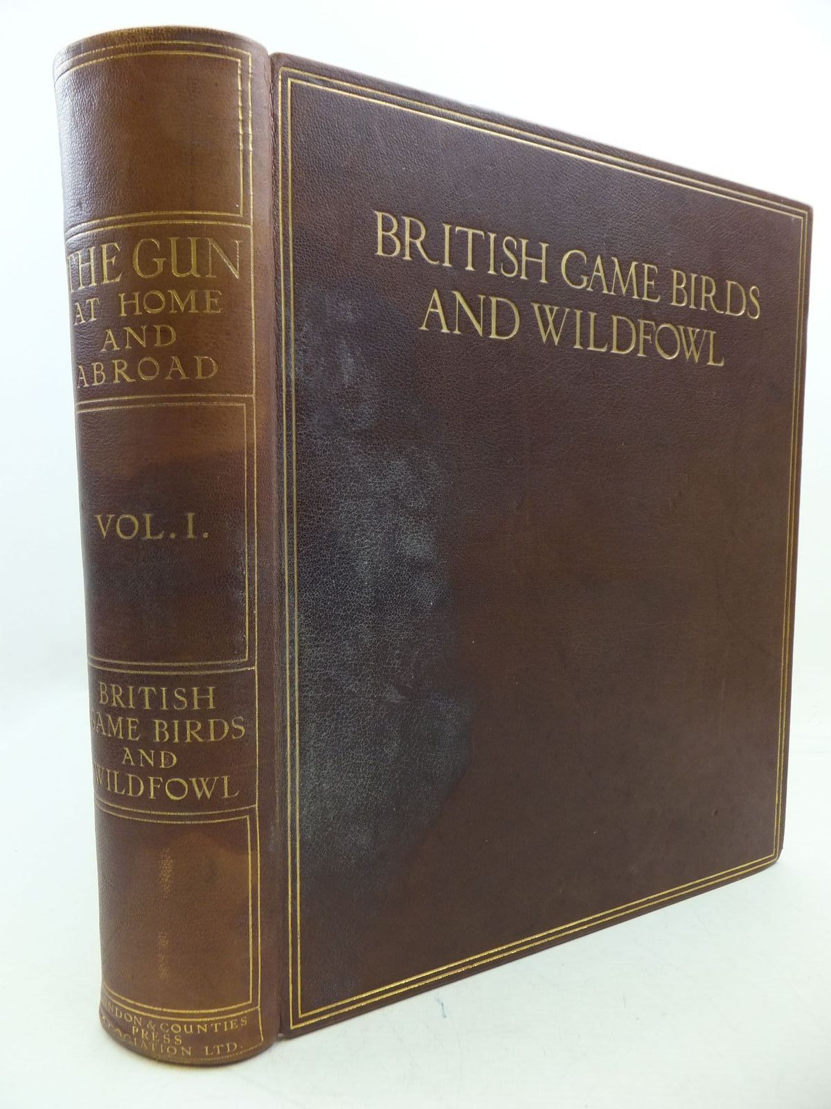 Photo of THE GUN AT HOME AND ABROAD VOLUME II - BRITISH GAME BIRDS AND WILDFOWL written by Ogilvie-Grant, W.R.<br />Maxwell, Aymer<br />et al, published by The London & Counties Press Association (STOCK CODE: 2112532)  for sale by Stella & Rose's Books