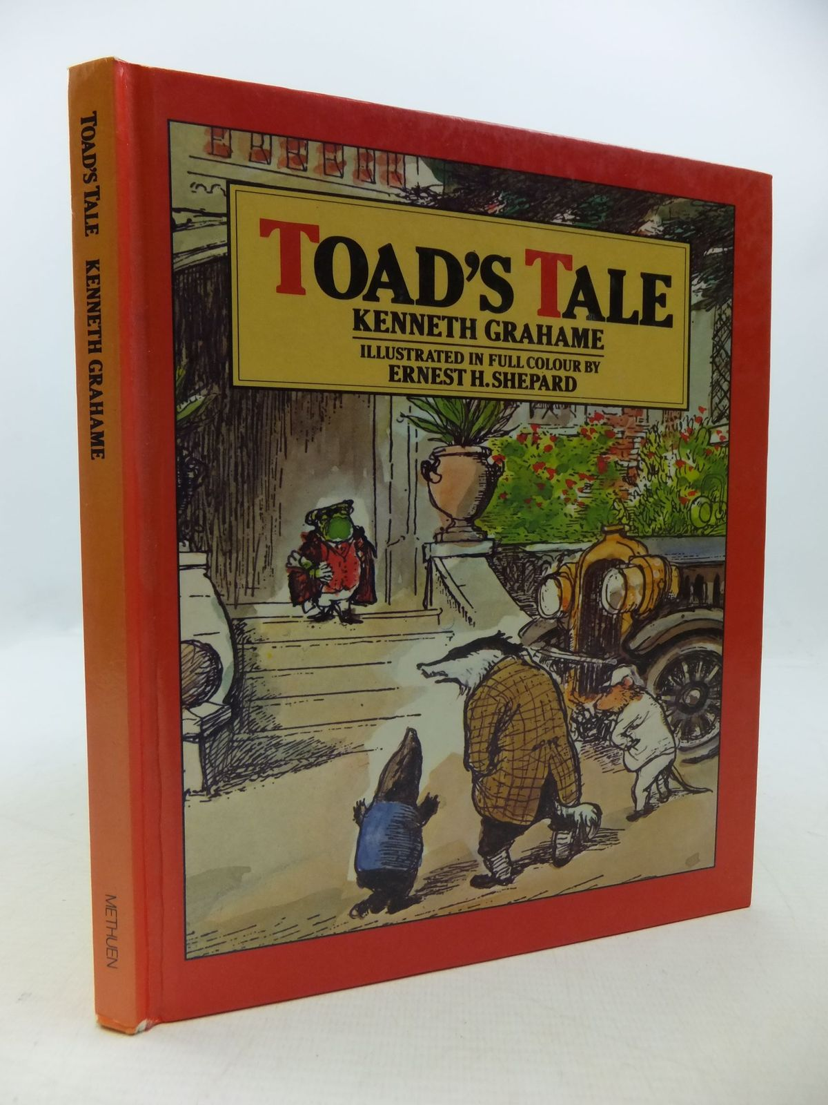Photo of TOAD'S TALE written by Grahame, Kenneth illustrated by Shepard, E.H. published by Methuen (STOCK CODE: 2112568)  for sale by Stella & Rose's Books