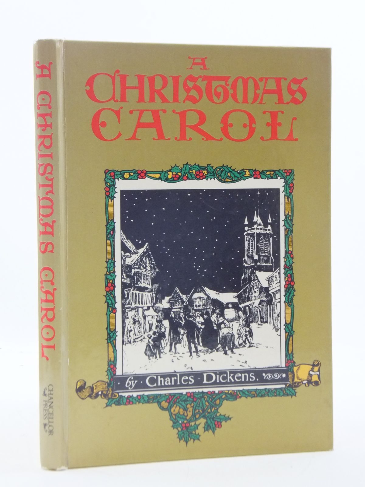 photo of a christmas carol written by dickens charles illustrated by tabor alan published - When Was A Christmas Carol Written