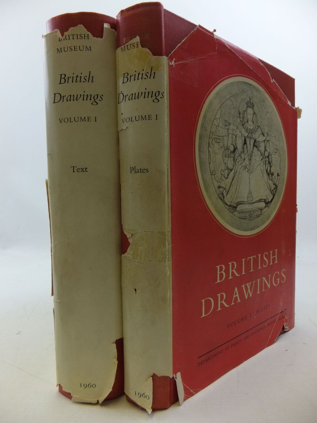 Photo of CATALOGUE OF BRITISH DRAWINGS VOLUME ONE: XVI & XVII CENTURIES (2 VOLUMES) written by Croft-Murray, Edward<br />Hulton, Paul<br />White, Christopher published by The Trustess of the British Museum (STOCK CODE: 2112712)  for sale by Stella & Rose's Books