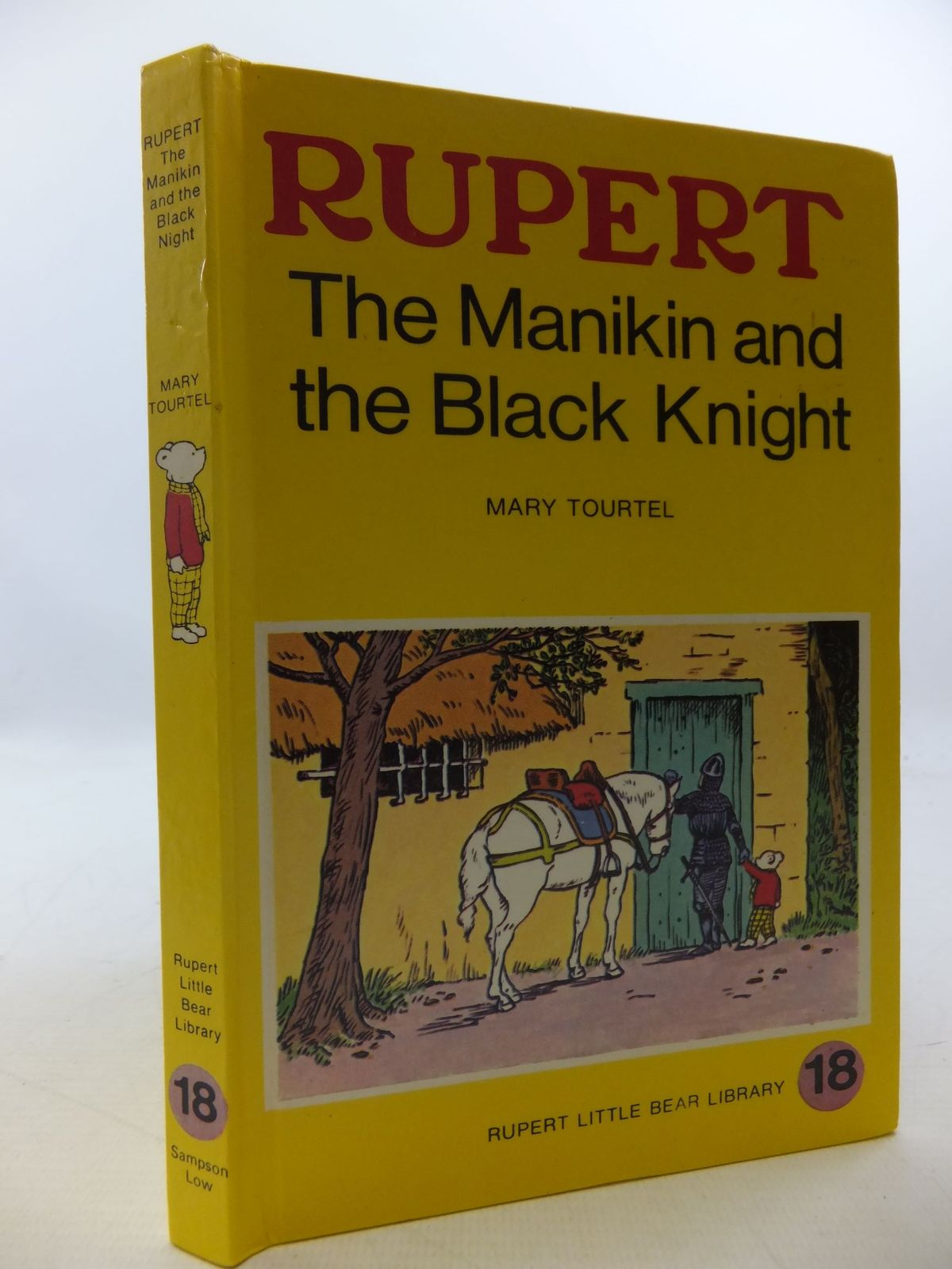 Photo of RUPERT, THE MANIKIN AND THE BLACK KNIGHT - RUPERT LITTLE BEAR LIBRARY No. 18 (WOOLWORTH) written by Tourtel, Mary illustrated by Tourtel, Mary published by Sampson Low, Marston & Co. Ltd. (STOCK CODE: 2112754)  for sale by Stella & Rose's Books
