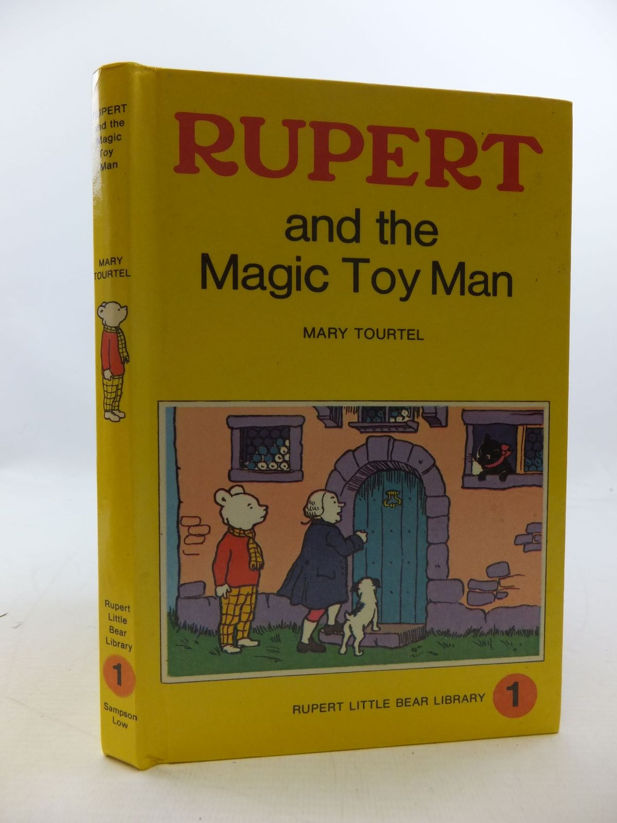 Photo of RUPERT AND THE MAGIC TOY MAN - RUPERT LITTLE BEAR LIBRARY No. 1 (WOOLWORTH) written by Tourtel, Mary illustrated by Tourtel, Mary published by Sampson Low, Marston & Co. Ltd. (STOCK CODE: 2112758)  for sale by Stella & Rose's Books