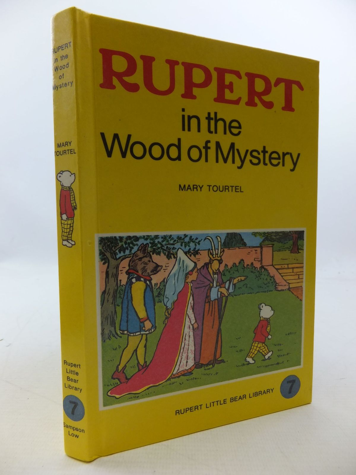 Photo of RUPERT IN THE WOOD OF MYSTERY - RUPERT LITTLE BEAR LIBRARY No. 7 (WOOLWORTH) written by Tourtel, Mary illustrated by Tourtel, Mary published by Sampson Low, Marston & Co. Ltd. (STOCK CODE: 2112764)  for sale by Stella & Rose's Books