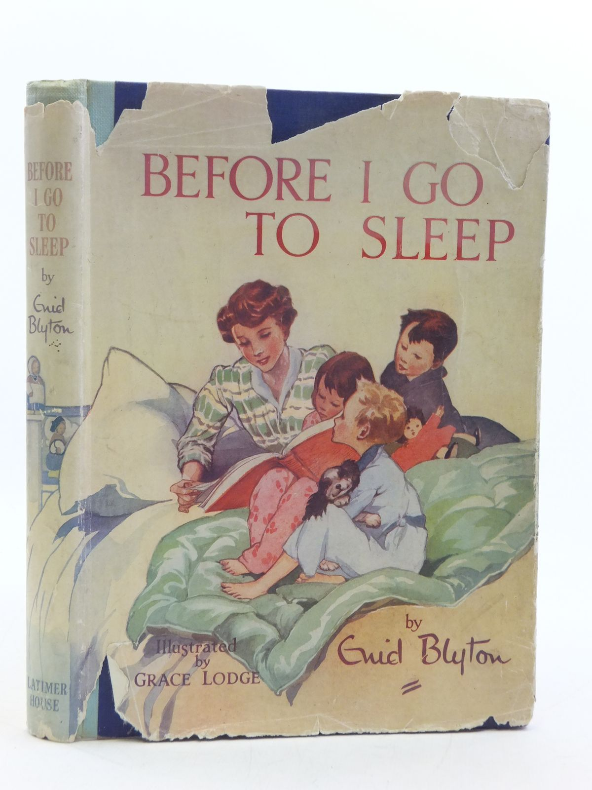 Photo of BEFORE I GO TO SLEEP written by Blyton, Enid illustrated by Lodge, Grace published by Latimer House Limited (STOCK CODE: 2112793)  for sale by Stella & Rose's Books