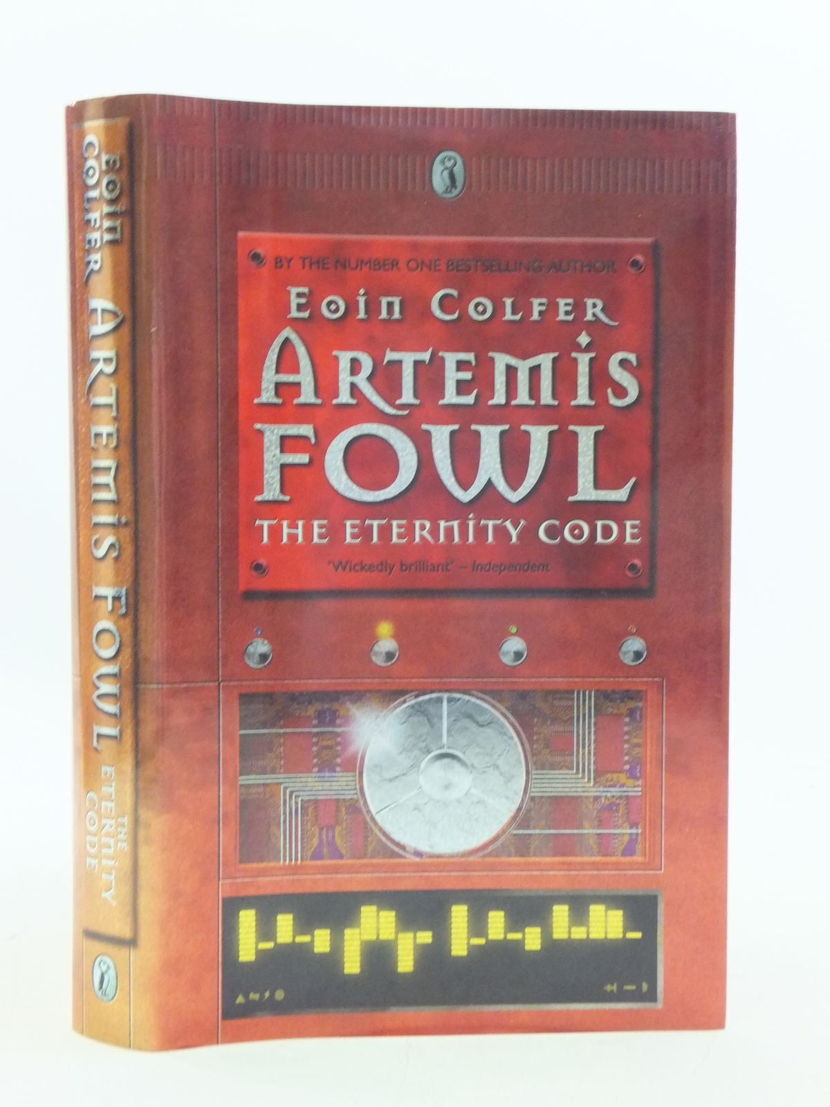 Photo of ARTEMIS FOWL THE ETERNITY CODE written by Colfer, Eoin published by Puffin Books (STOCK CODE: 2112800)  for sale by Stella & Rose's Books