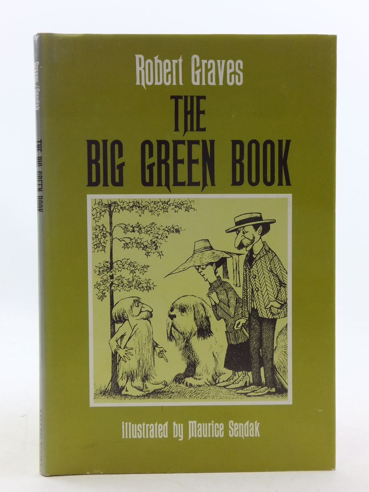 Photo of THE BIG GREEN BOOK written by Graves, Robert illustrated by Sendak, Maurice published by Kestrel Books (STOCK CODE: 2112802)  for sale by Stella & Rose's Books