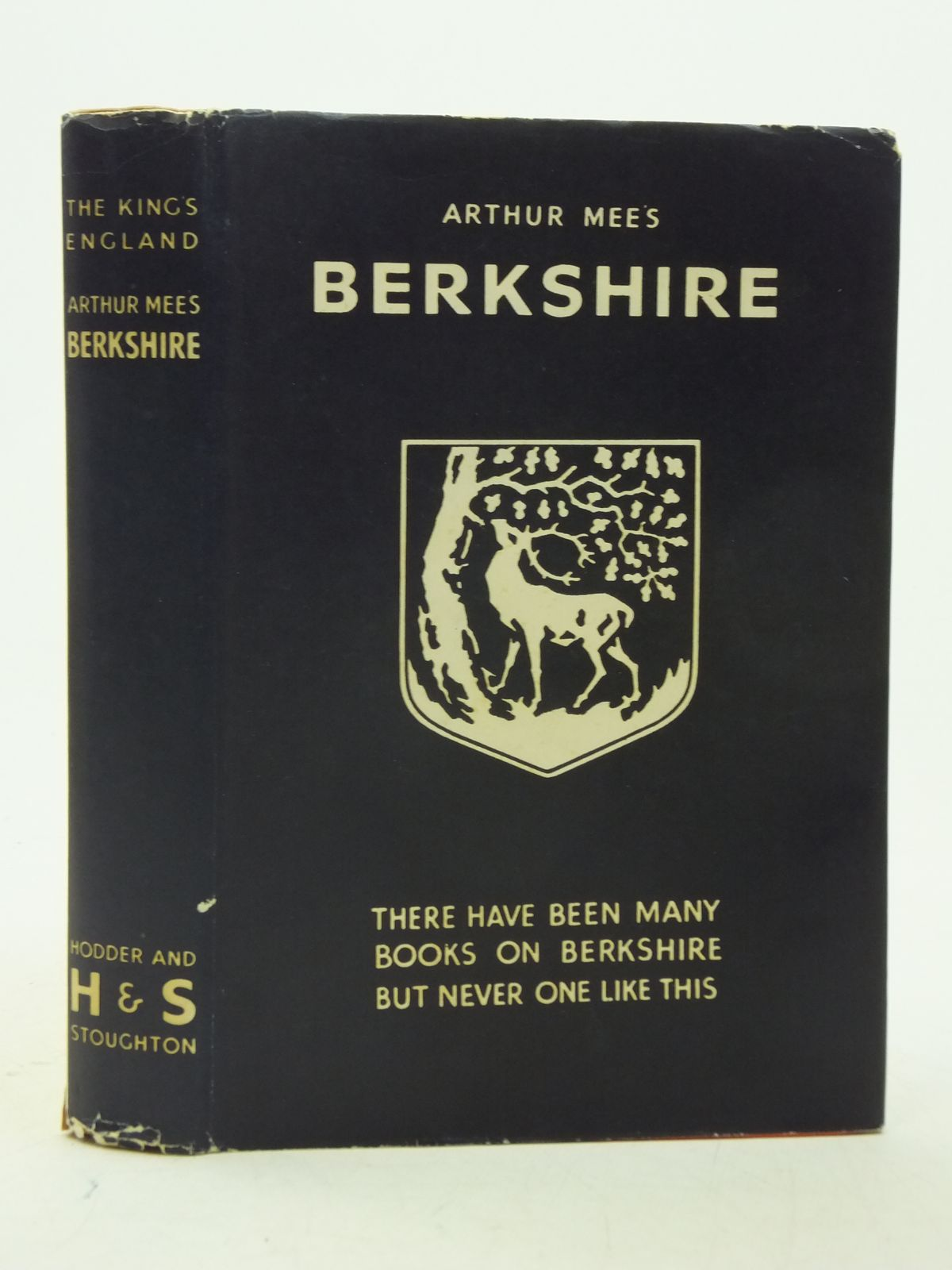 Photo of BERKSHIRE (KING'S ENGLAND) written by Mee, Arthur published by Hodder & Stoughton (STOCK CODE: 2112831)  for sale by Stella & Rose's Books