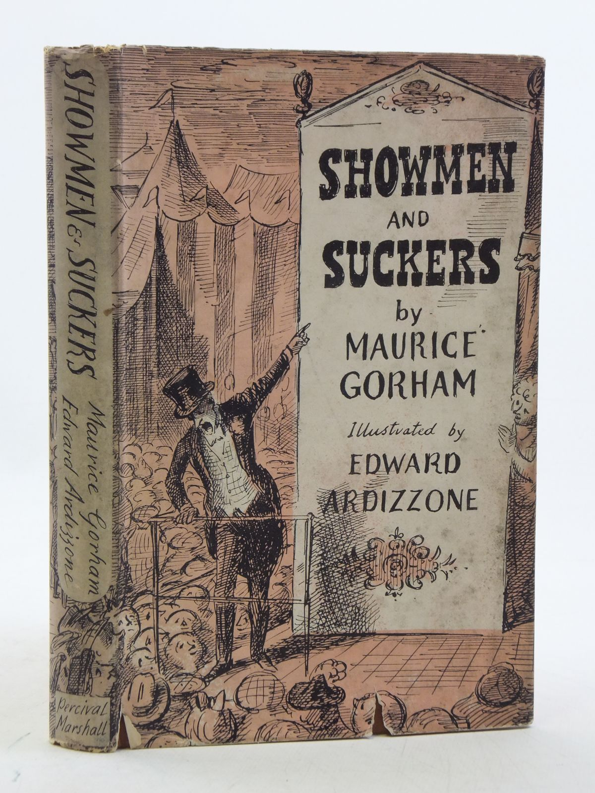 Photo of SHOWMEN AND SUCKERS written by Gorham, Maurice illustrated by Ardizzone, Edward published by Percival Marshall (STOCK CODE: 2112863)  for sale by Stella & Rose's Books