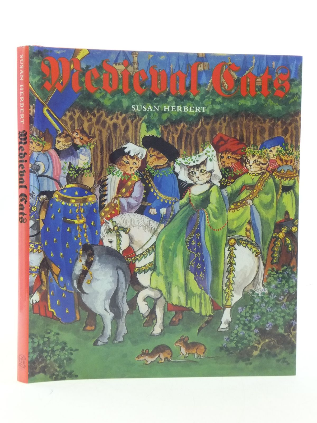 Photo of MEDIEVAL CATS written by Herbert, Susan illustrated by Herbert, Susan published by Thames and Hudson (STOCK CODE: 2112870)  for sale by Stella & Rose's Books