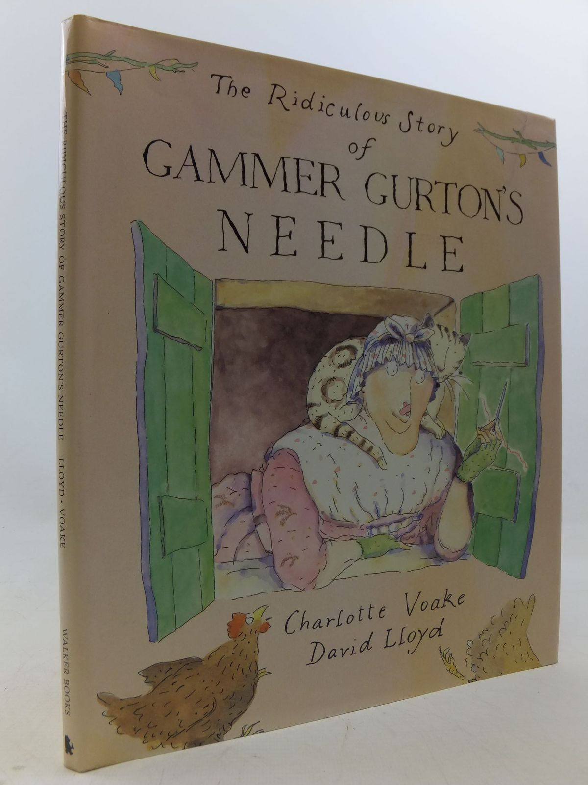Photo of THE RIDICULOUS STORY OF GAMMER GURTON'S NEEDLE written by Lloyd, David illustrated by Voake, Charlotte published by Walker Books (STOCK CODE: 2112885)  for sale by Stella & Rose's Books