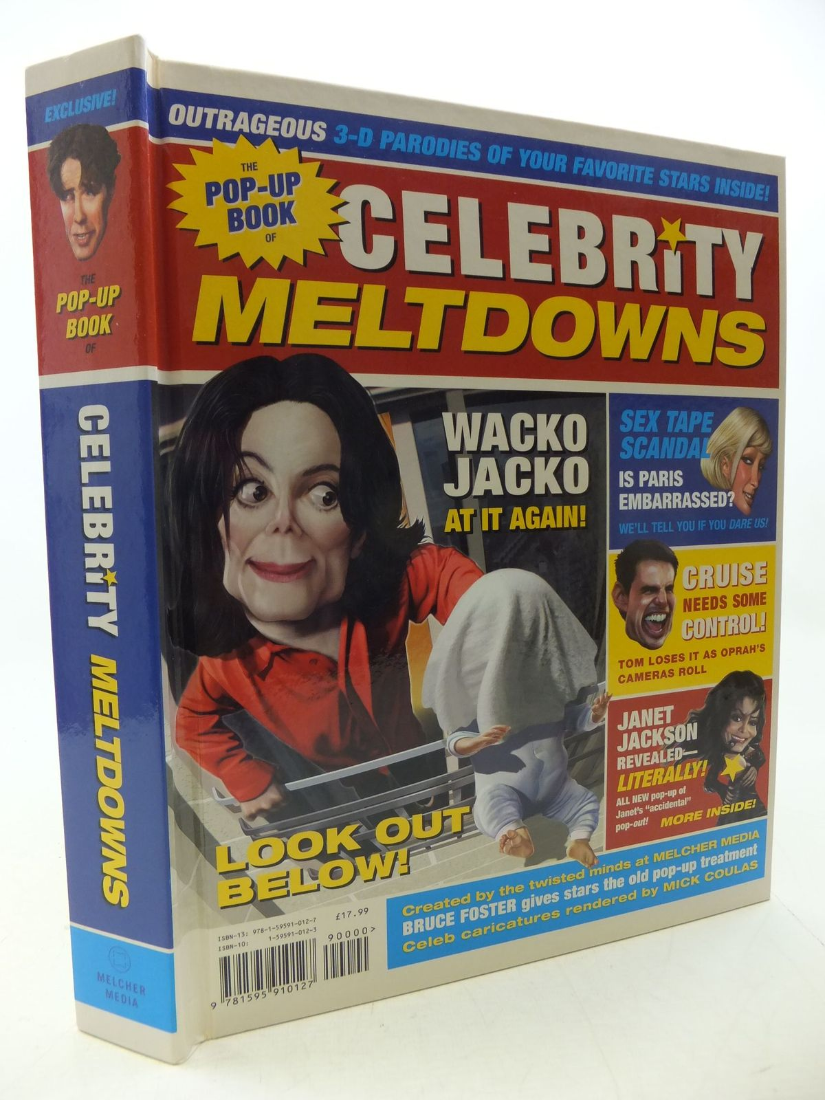 Photo of THE POP-UP BOOK OF CELEBRITY MELTDOWNS written by Foster, Bruce published by Dorling Kindersley, Melcher Media (STOCK CODE: 2112914)  for sale by Stella & Rose's Books