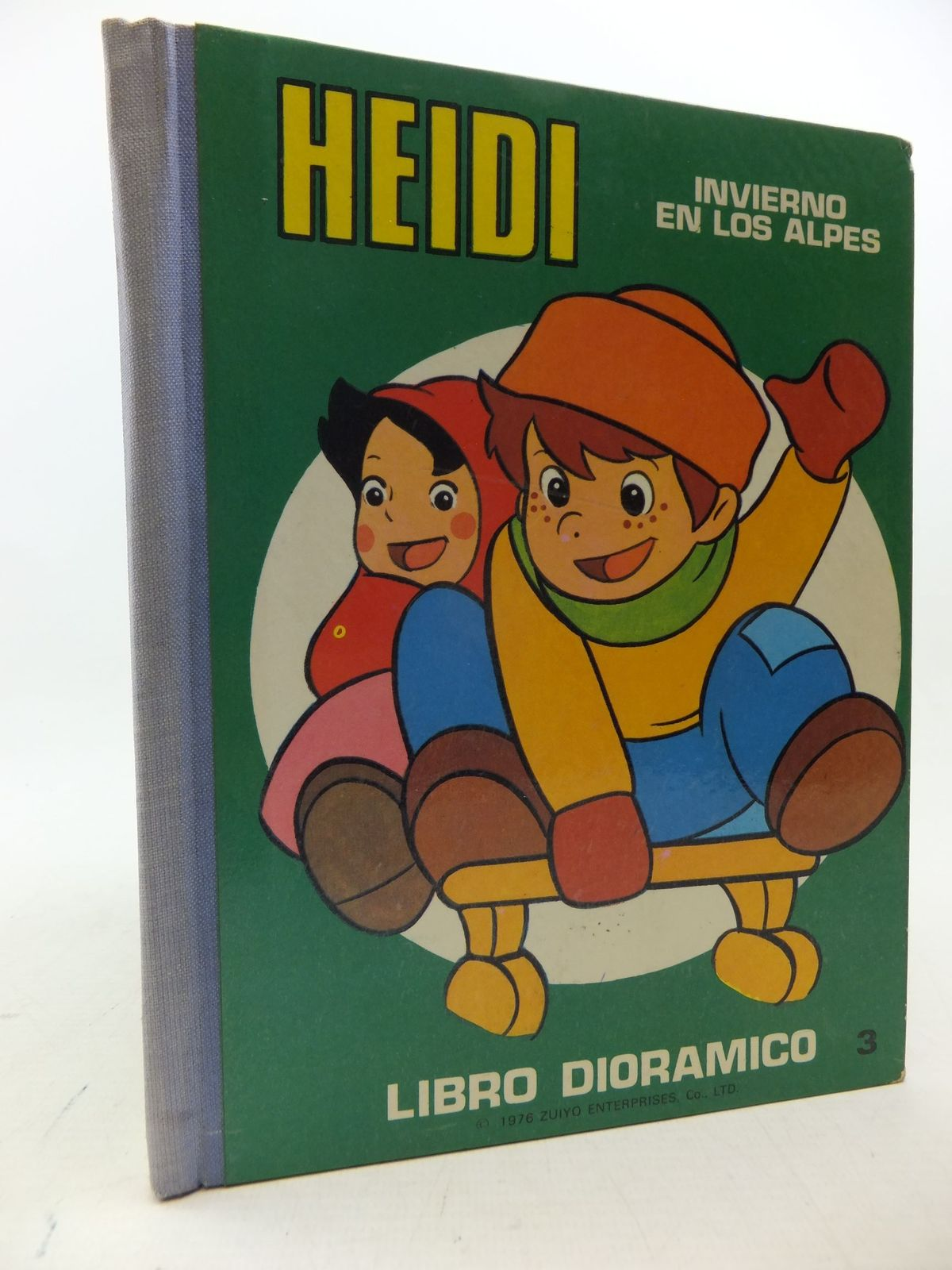 Photo of HEIDI INVIERNO EN LOS ALPES published by Editorial Roma (STOCK CODE: 2112976)  for sale by Stella & Rose's Books