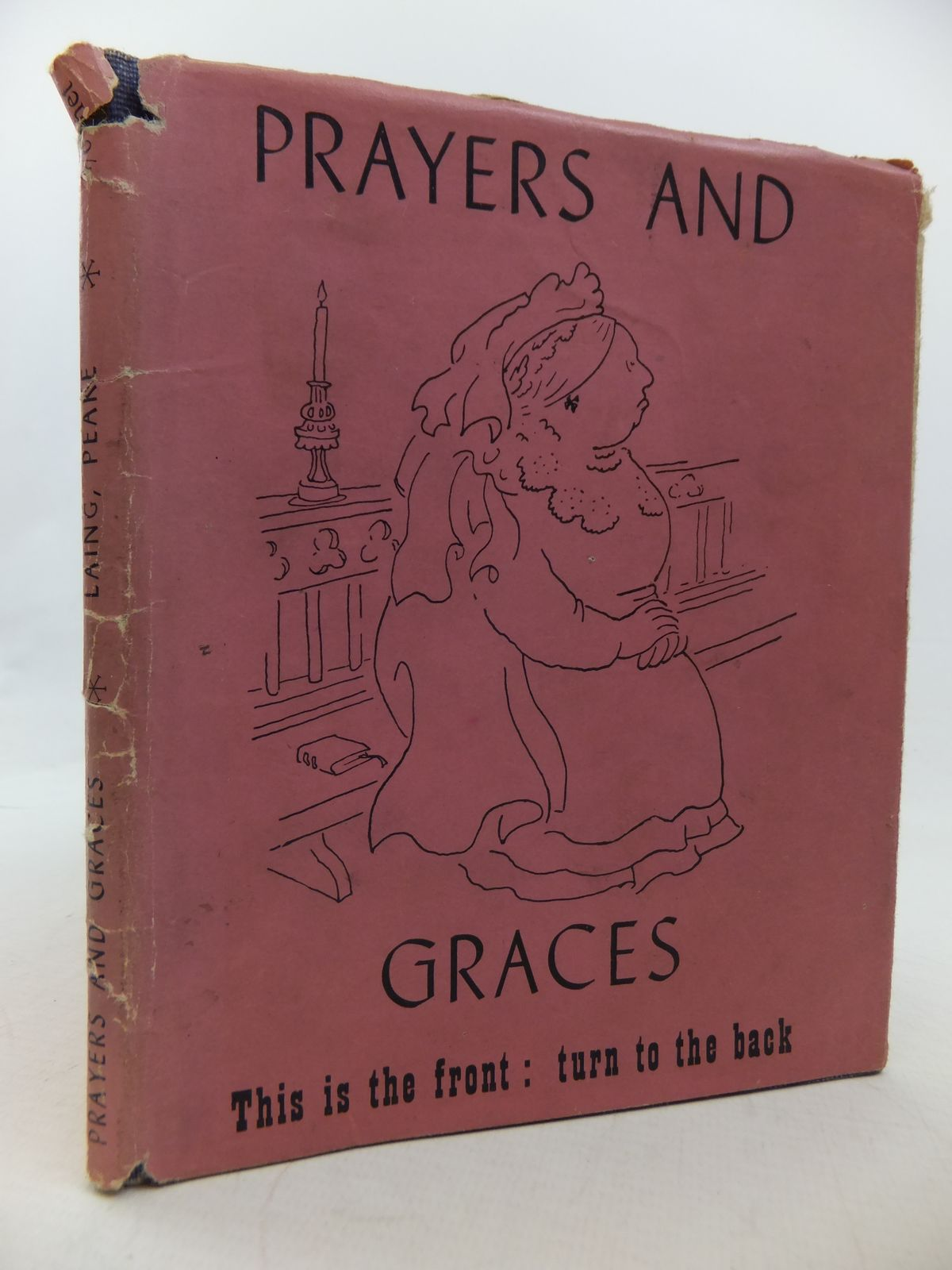 Photo of PRAYERS AND GRACES written by Laing, Allan M. illustrated by Peake, Mervyn published by Victor Gollancz Ltd. (STOCK CODE: 2113125)  for sale by Stella & Rose's Books