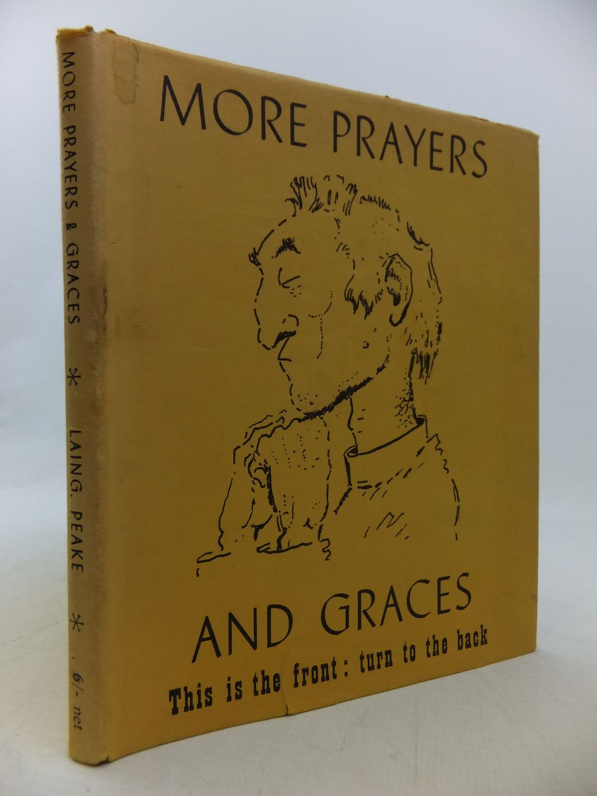 Photo of MORE PRAYERS AND GRACES written by Laing, Allan M. illustrated by Peake, Mervyn published by Victor Gollancz Ltd. (STOCK CODE: 2113126)  for sale by Stella & Rose's Books