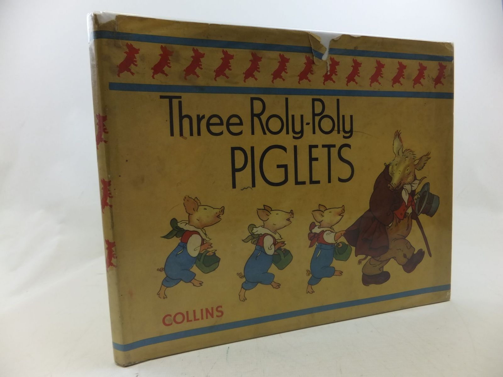 Photo of THREE ROLY-POLY PIGLETS written by Allen, Philip Schuyler illustrated by Moe, Louis published by Collins (STOCK CODE: 2113315)  for sale by Stella & Rose's Books