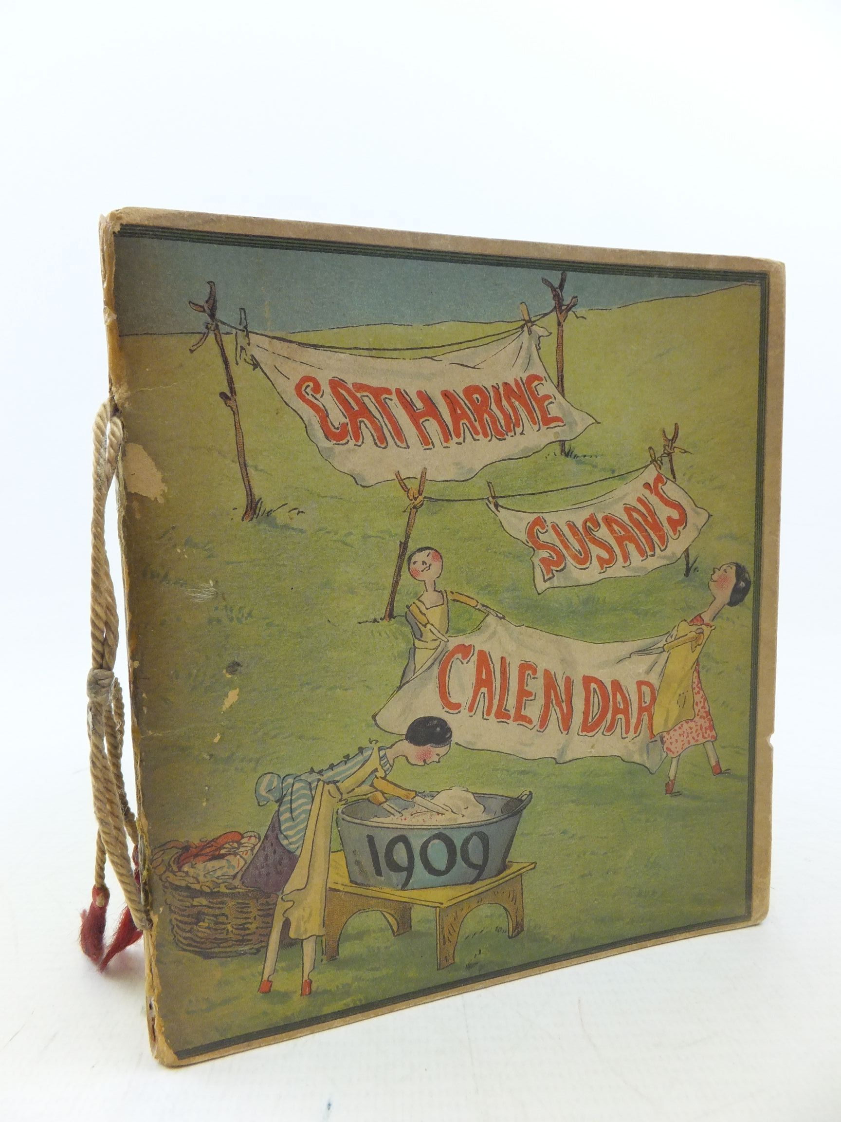 Photo of CATHARINE SUSAN'S CALENDAR 1909 illustrated by Ainslie, Kathleen published by Castell Brothers Ltd. (STOCK CODE: 2113317)  for sale by Stella & Rose's Books