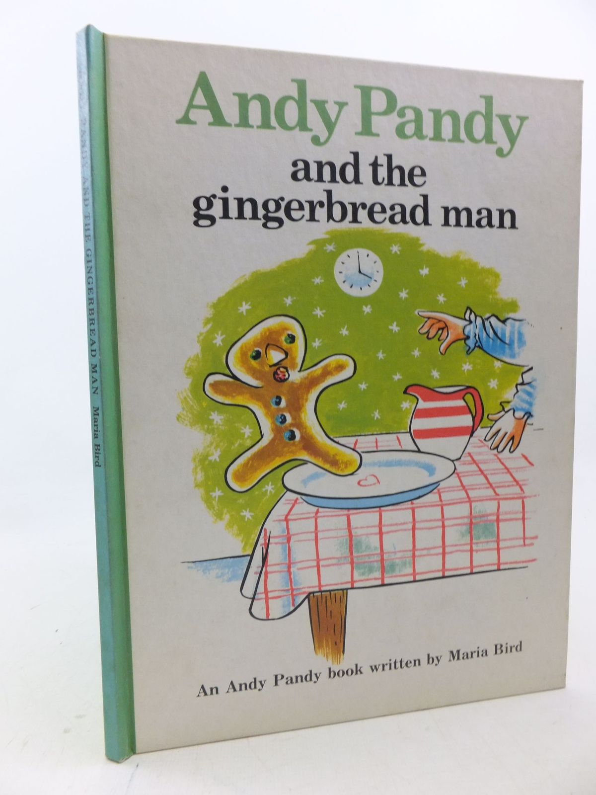 Photo of ANDY PANDY AND THE GINGERBREAD MAN written by Bird, Maria illustrated by Wright, Matvyn published by The Potato Press (STOCK CODE: 2113341)  for sale by Stella & Rose's Books
