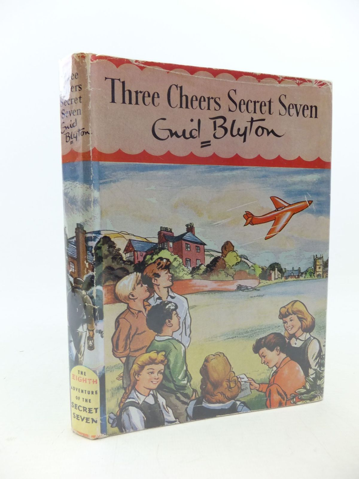 Photo of THREE CHEERS SECRET SEVEN written by Blyton, Enid illustrated by Sharrocks, Burgess published by Brockhampton Press (STOCK CODE: 2113351)  for sale by Stella & Rose's Books