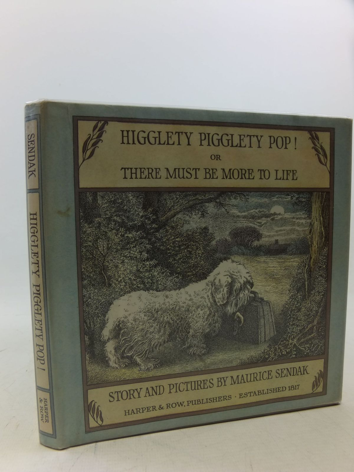 Photo of HIGGLETY PIGGLETY POP! OR THERE MUST BE MORE TO LIFE written by Sendak, Maurice illustrated by Sendak, Maurice published by Harper & Row (STOCK CODE: 2113394)  for sale by Stella & Rose's Books