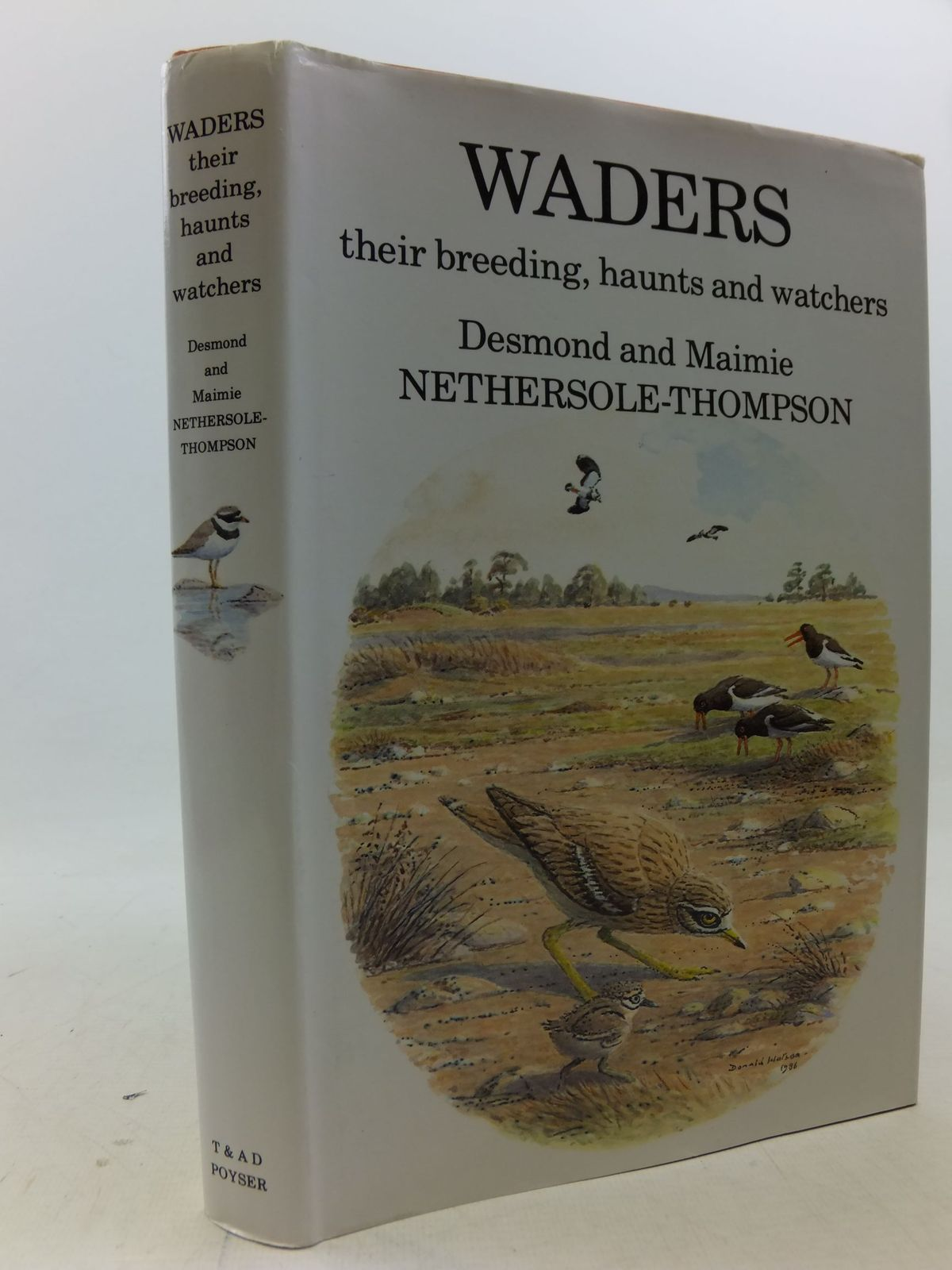 Photo of WADERS THEIR BREEDING, HAUNTS AND WATCHERS written by Nethersole-Thompson, Desmond<br />Nethersole-Thompson, Maimie illustrated by Watson, Donald published by T. & A.D. Poyser (STOCK CODE: 2113403)  for sale by Stella & Rose's Books