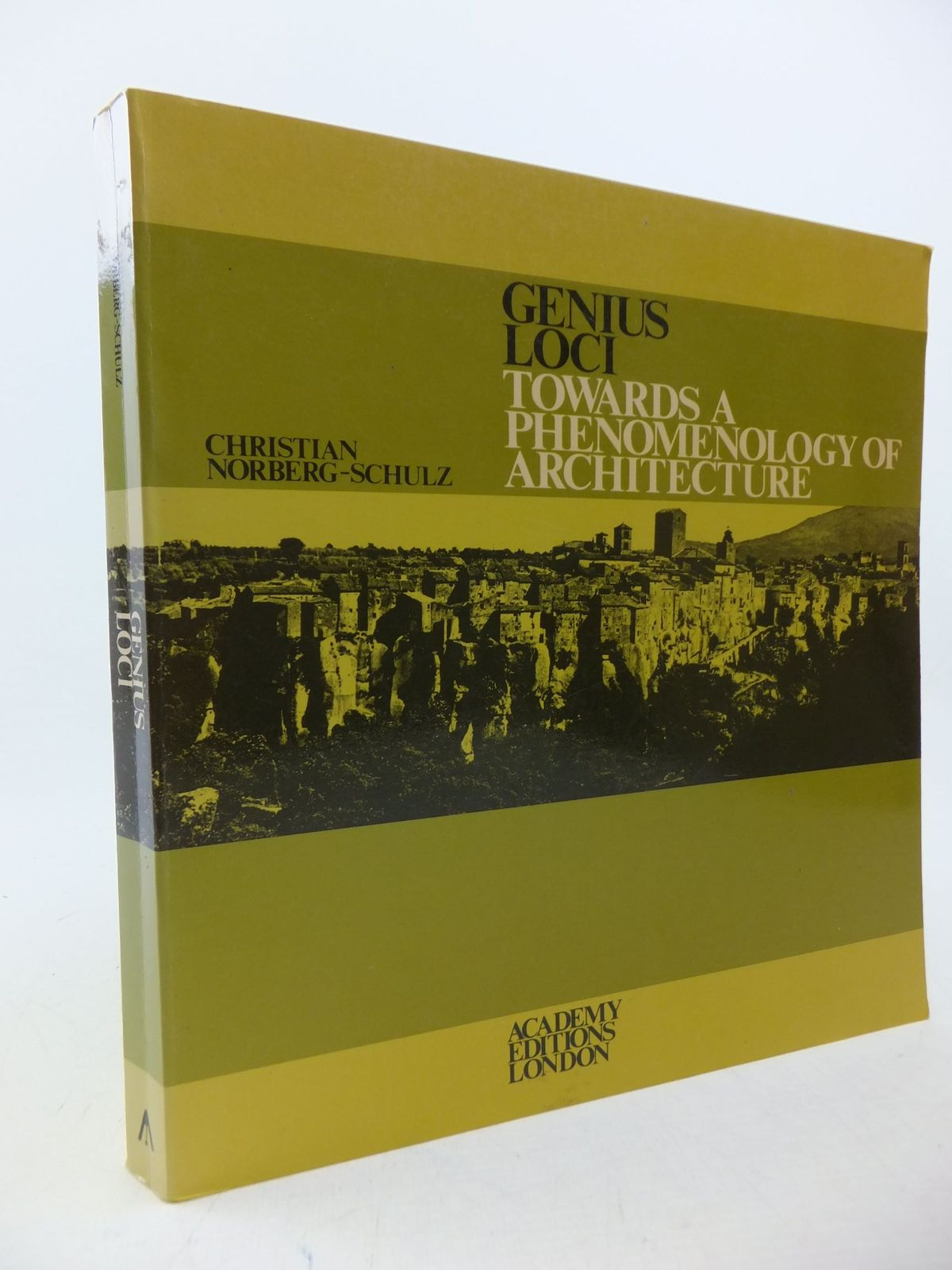 Photo of GENIUS LOCI: TOWARDS A PHENOMENOLOGY OF ARCHITECTURE written by Norberg-Schulz, Christian published by Academy Editions (STOCK CODE: 2113410)  for sale by Stella & Rose's Books