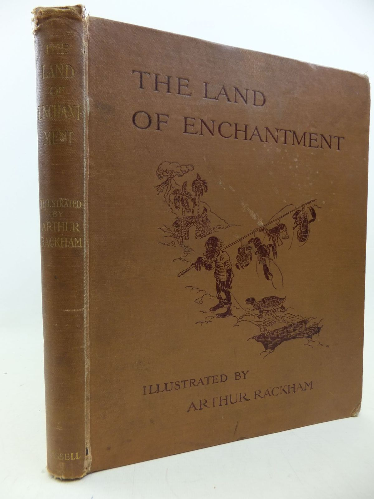 Photo of THE LAND OF ENCHANTMENT written by Bonser, A.E.<br />Woolf, Sidney<br />Bucheim, E.S. illustrated by Rackham, Arthur published by Cassell & Co. Ltd. (STOCK CODE: 2113416)  for sale by Stella & Rose's Books