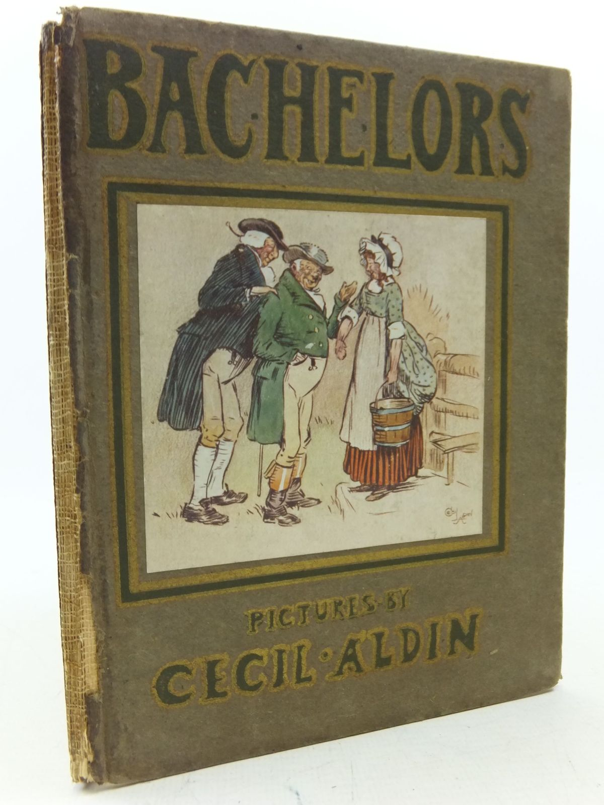 Photo of BACHELORS AND A BACHELOR'S CONFESSIONS written by Irving, Washington illustrated by Aldin, Cecil published by William Heinemann (STOCK CODE: 2113503)  for sale by Stella & Rose's Books