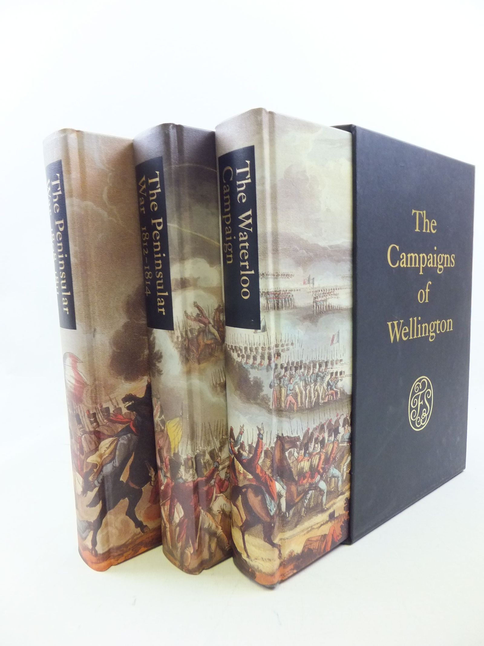 Photo of THE CAMPAIGNS OF WELLINGTON written by Fletcher, Ian published by Folio Society (STOCK CODE: 2113660)  for sale by Stella & Rose's Books