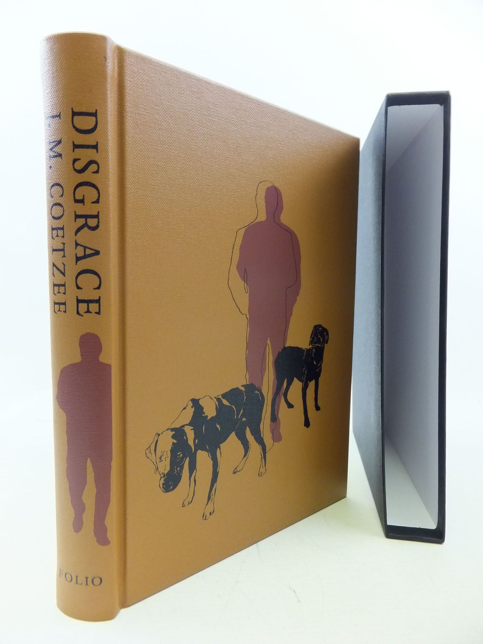 Photo of DISGRACE written by Coetzee, J.M.<br />Hope, Christopher illustrated by Gibson, Andrew published by Folio Society (STOCK CODE: 2113663)  for sale by Stella & Rose's Books